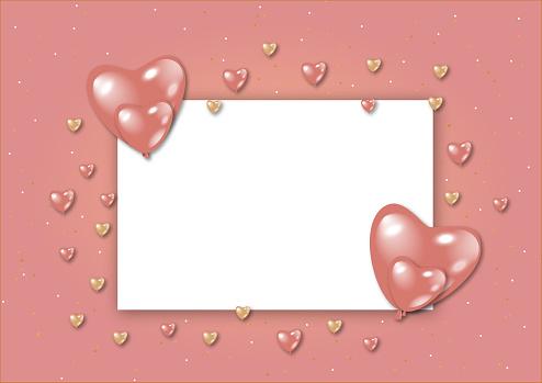 Celebration Valentine card