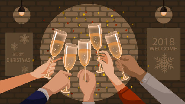 Şampanyalı kutlama