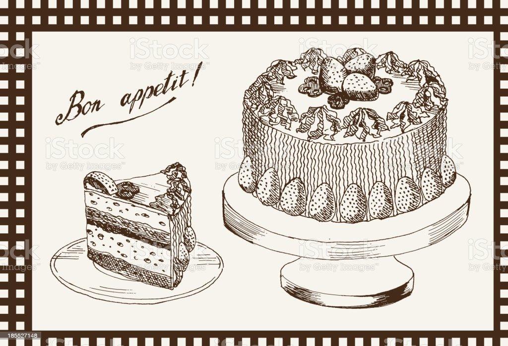 celebratory cake royalty-free celebratory cake stock vector art & more images of anniversary