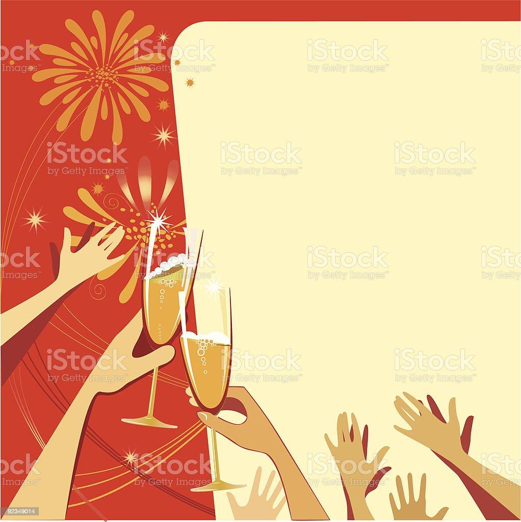 celebratory illustration royalty-free stock vector art