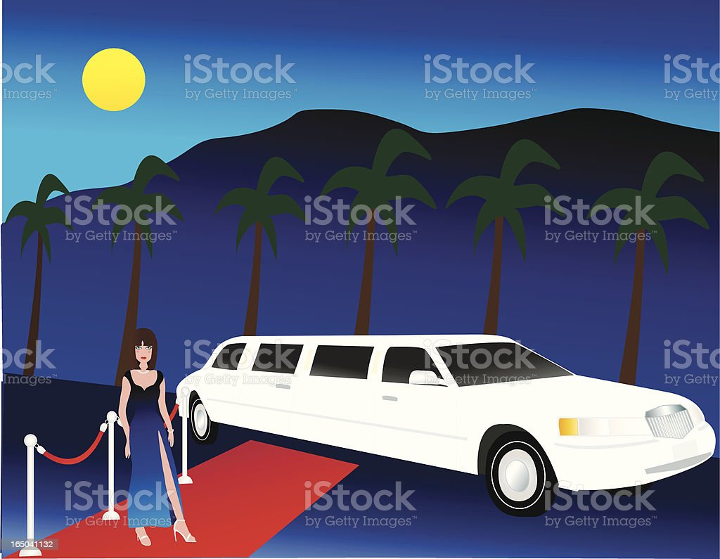 Celebrity Limo royalty-free celebrity limo stock vector art & more images of actress