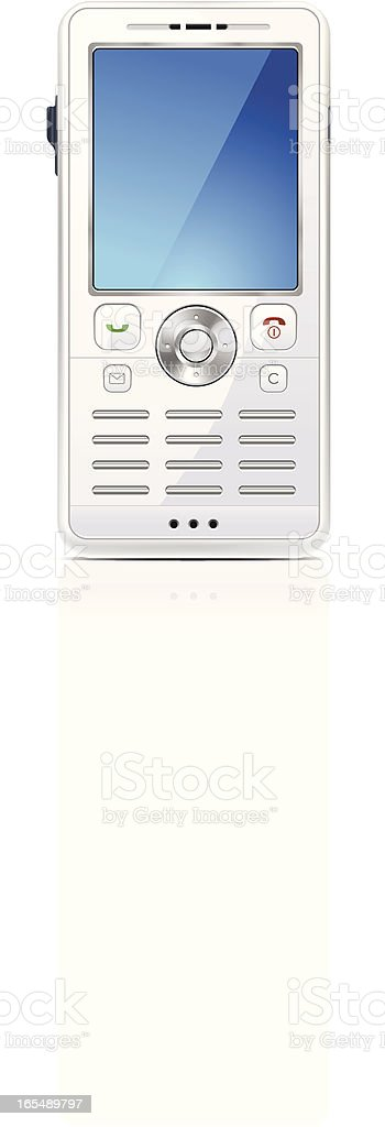 Cell phone royalty-free cell phone stock vector art & more images of blue