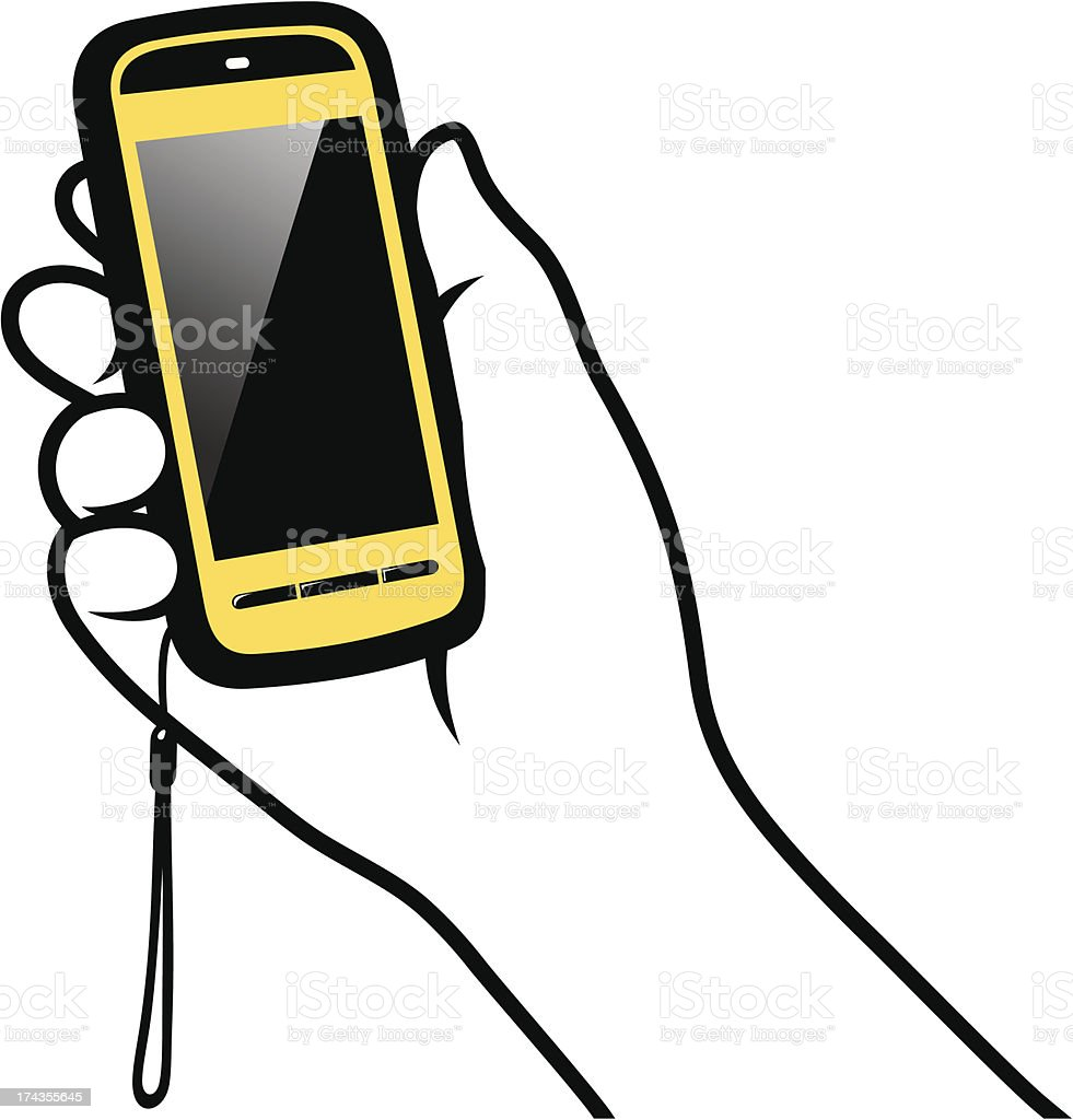 Cell Phone royalty-free cell phone stock vector art & more images of communication