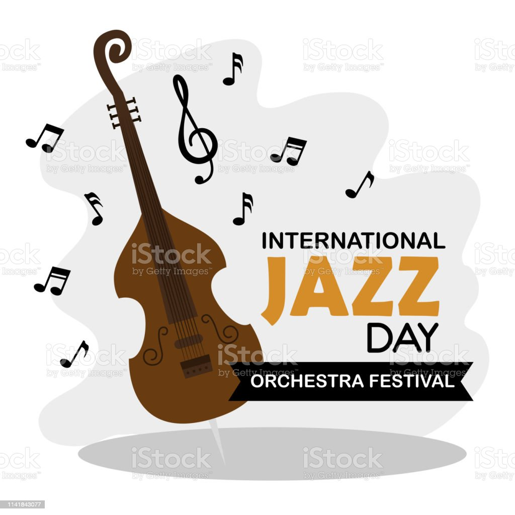 Cello Instrument With Music Signs Notes Stock Illustration