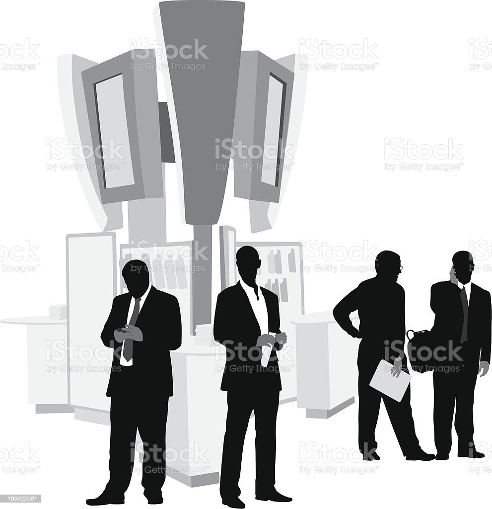 Cellular Vector Silhouette royalty-free stock vector art