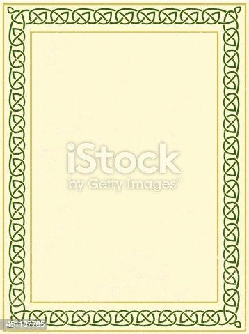 istock celtic border 451187785