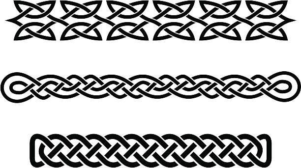 celtic braids These are original designs I created for use as borders on invitations and advertisements. They would also make good