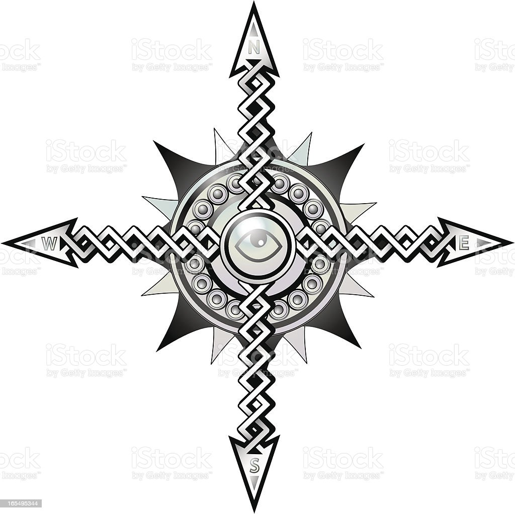 Celtic compass stock vector art more images of arrow symbol celtic compass royalty free celtic compass stock vector art amp more images of arrow buycottarizona