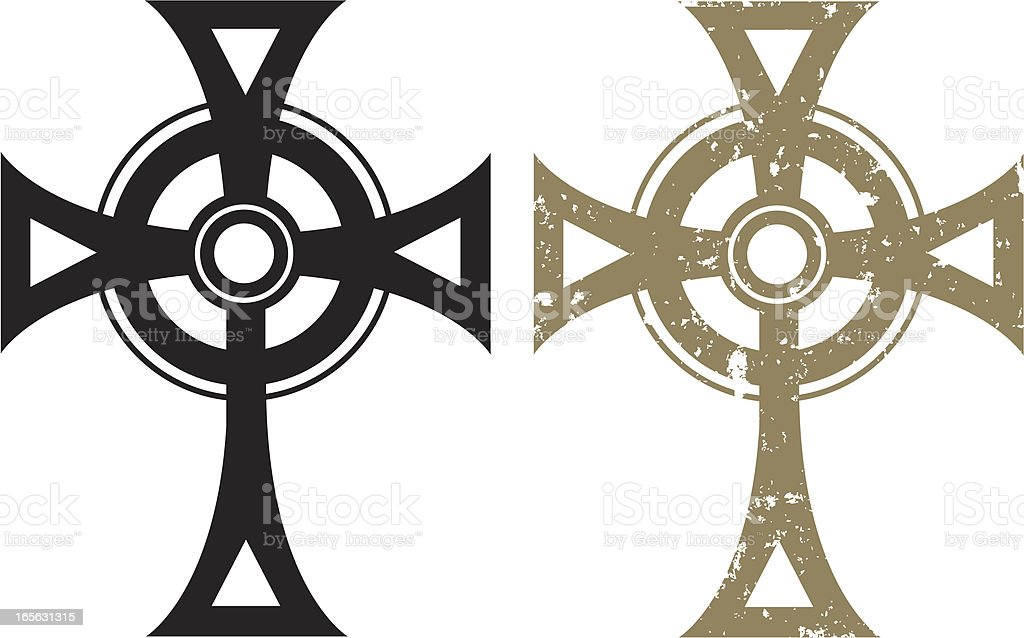 celtic cross stock vector art more images of celtic cross rh istockphoto com celtic cross vector image vector celtic cross meaning