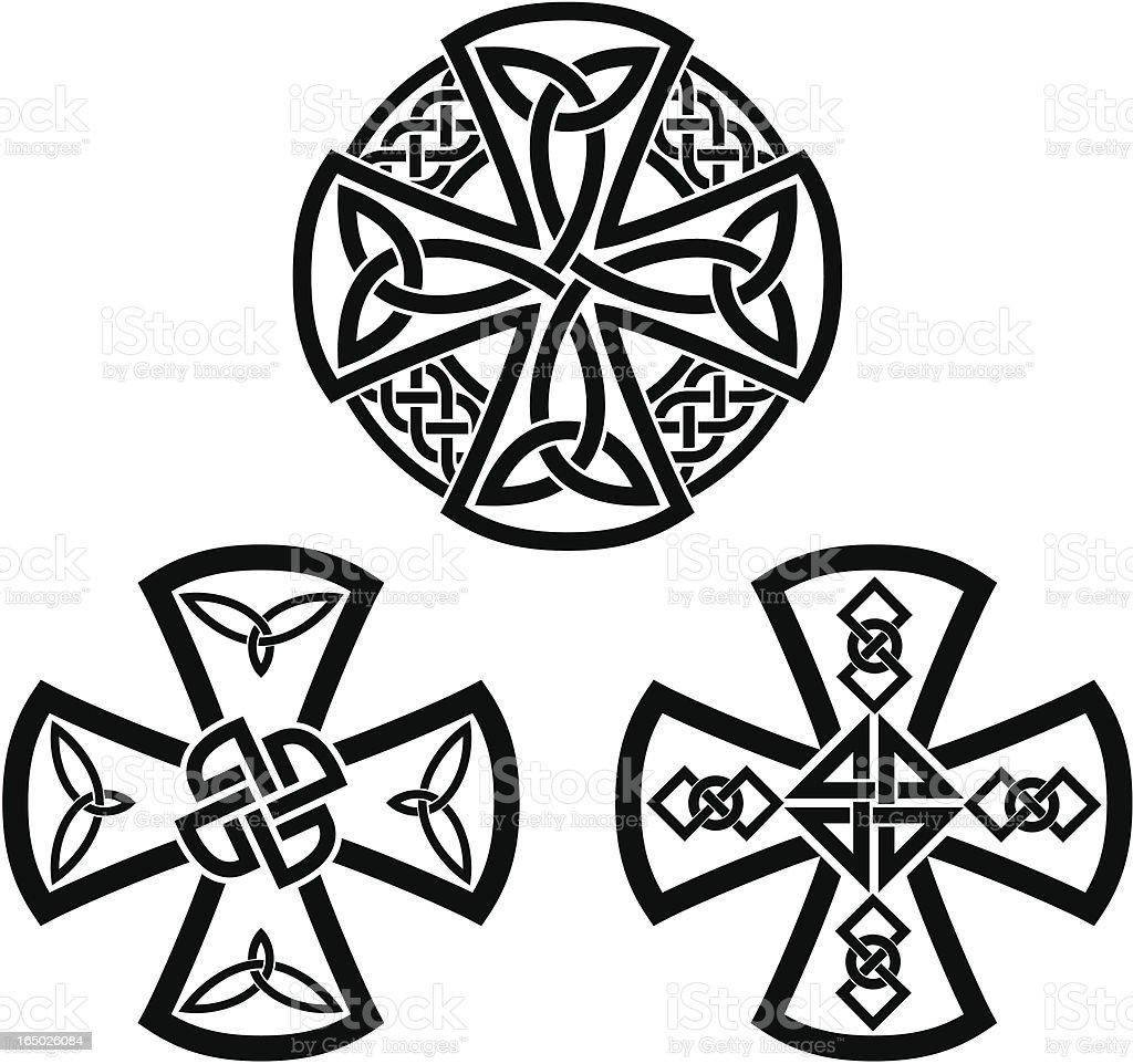 Celtic crosses royalty-free celtic crosses stock vector art & more images of art
