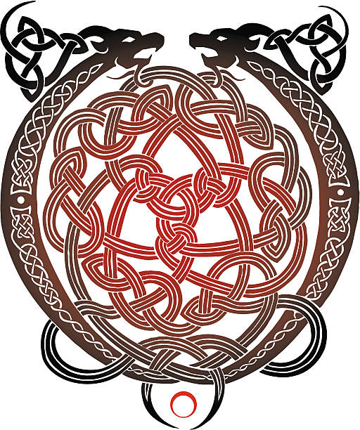 Top 60 Celtic Dragon Clip Art, Vector Graphics and Illustrations - iStock