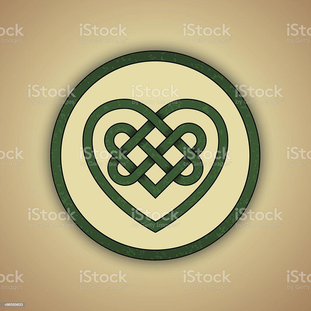Celtic heart knot symbol of love stock vector art more images of celtic heart knot symbol of love royalty free celtic heart knot symbol of love stock buycottarizona