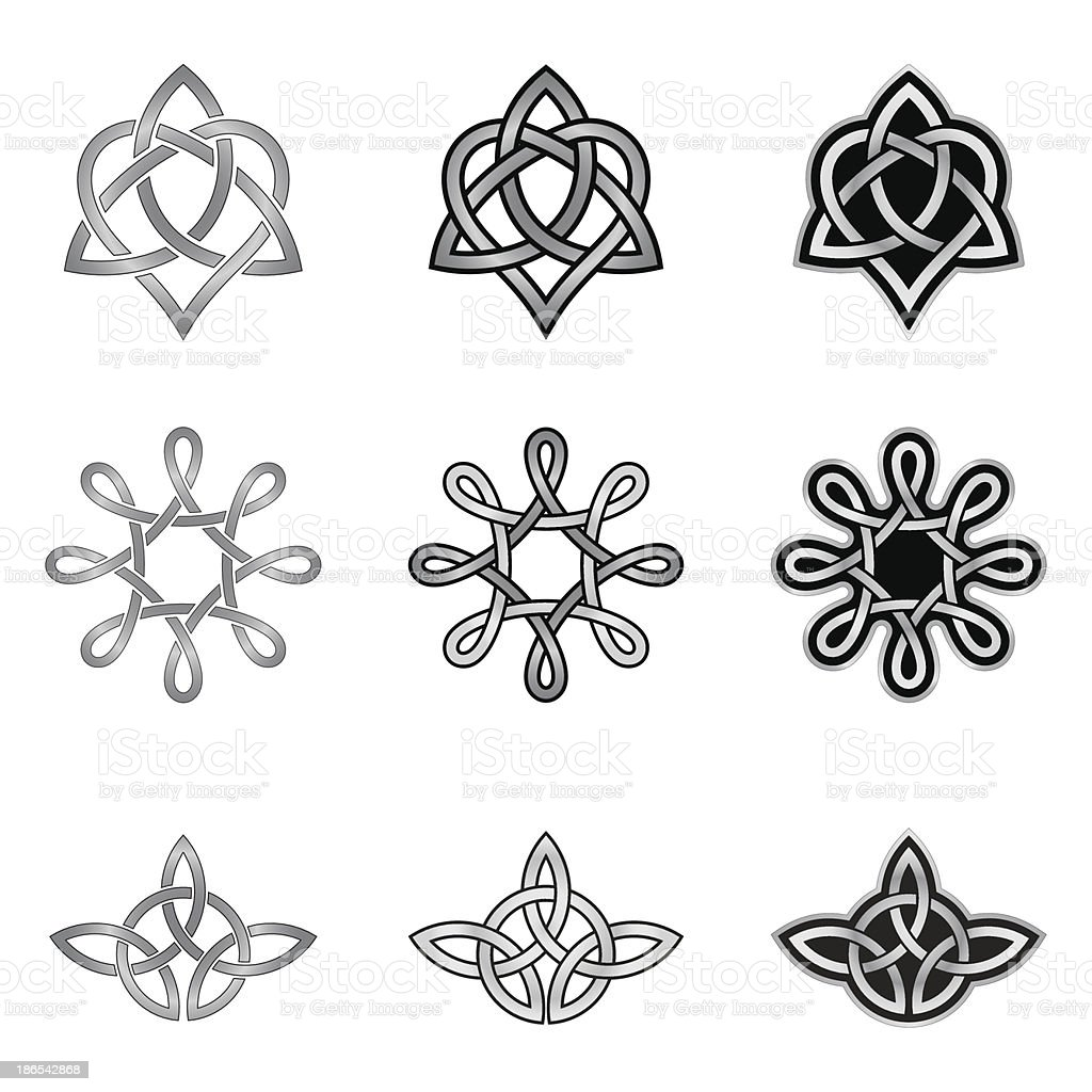 Celtic Knot Patterns and Templates royalty-free celtic knot patterns and templates stock vector art & more images of abstract
