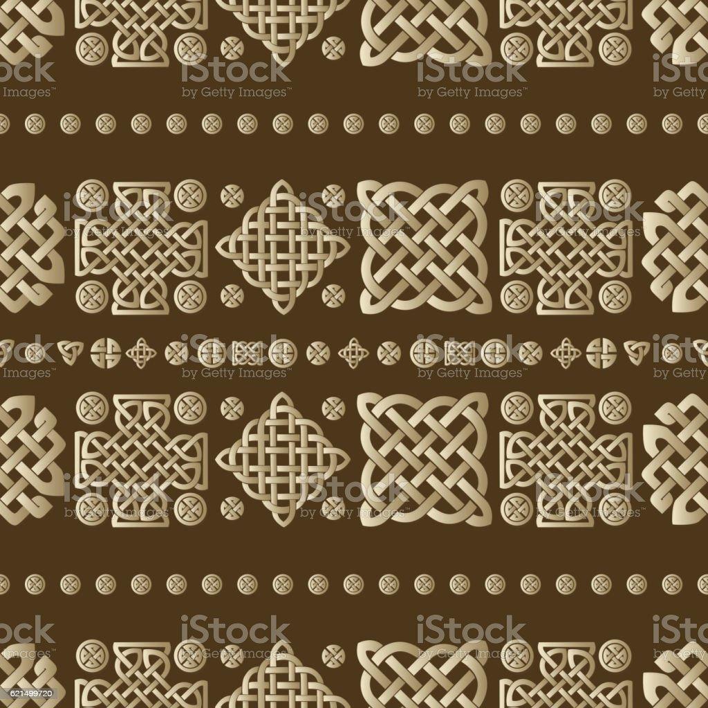 Keltische Knoten Nahtlose Muster Lizenzfreies keltische knoten nahtlose muster stock vektor art und mehr bilder von abstrakt