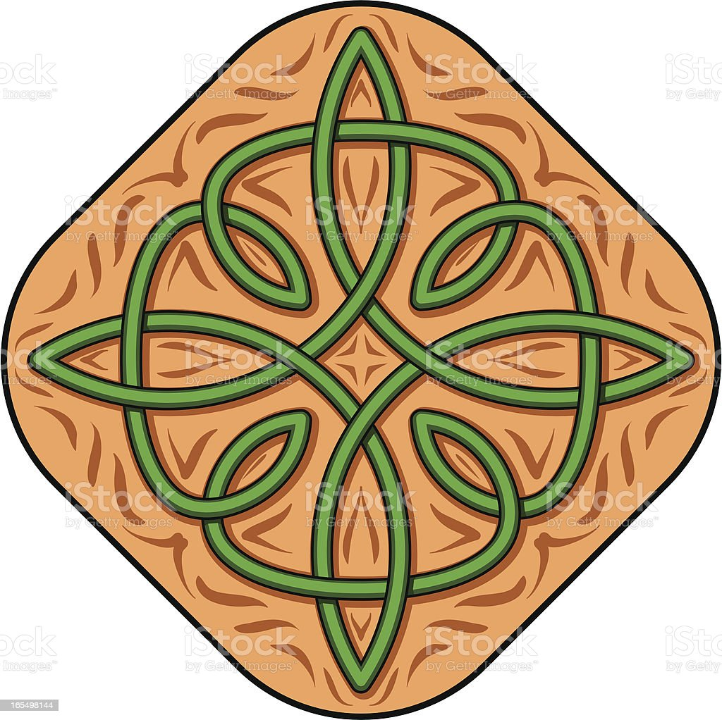 Celtic Knot royalty-free celtic knot stock vector art & more images of carving - craft product