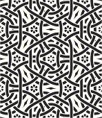 Seamless celtic knot wallpaper pattern