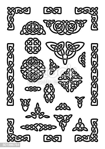 istock Celtic Knots Collection 501386754