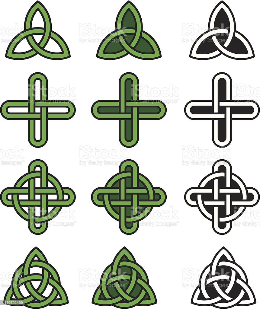 Celtic knots royalty-free stock vector art