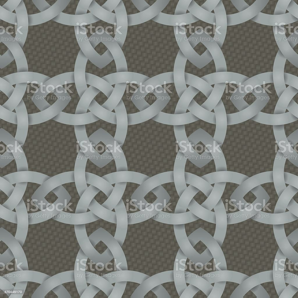 Celtic Knotwork Seamless Background Stock Illustration Download Image Now Istock