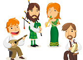 Celtic music set