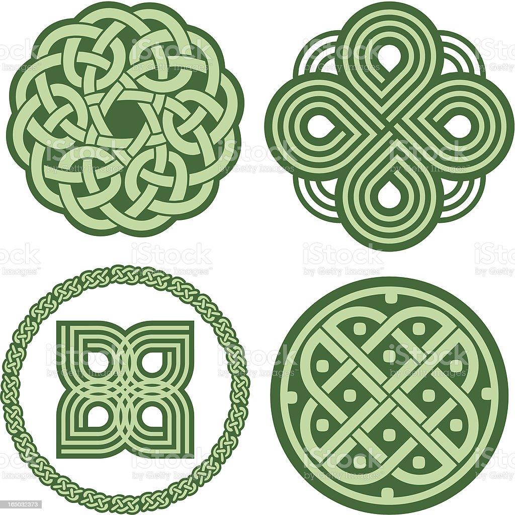 Celtic ornaments (Vector) royalty-free stock vector art