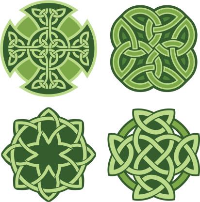 Celtic ornaments (Vector)