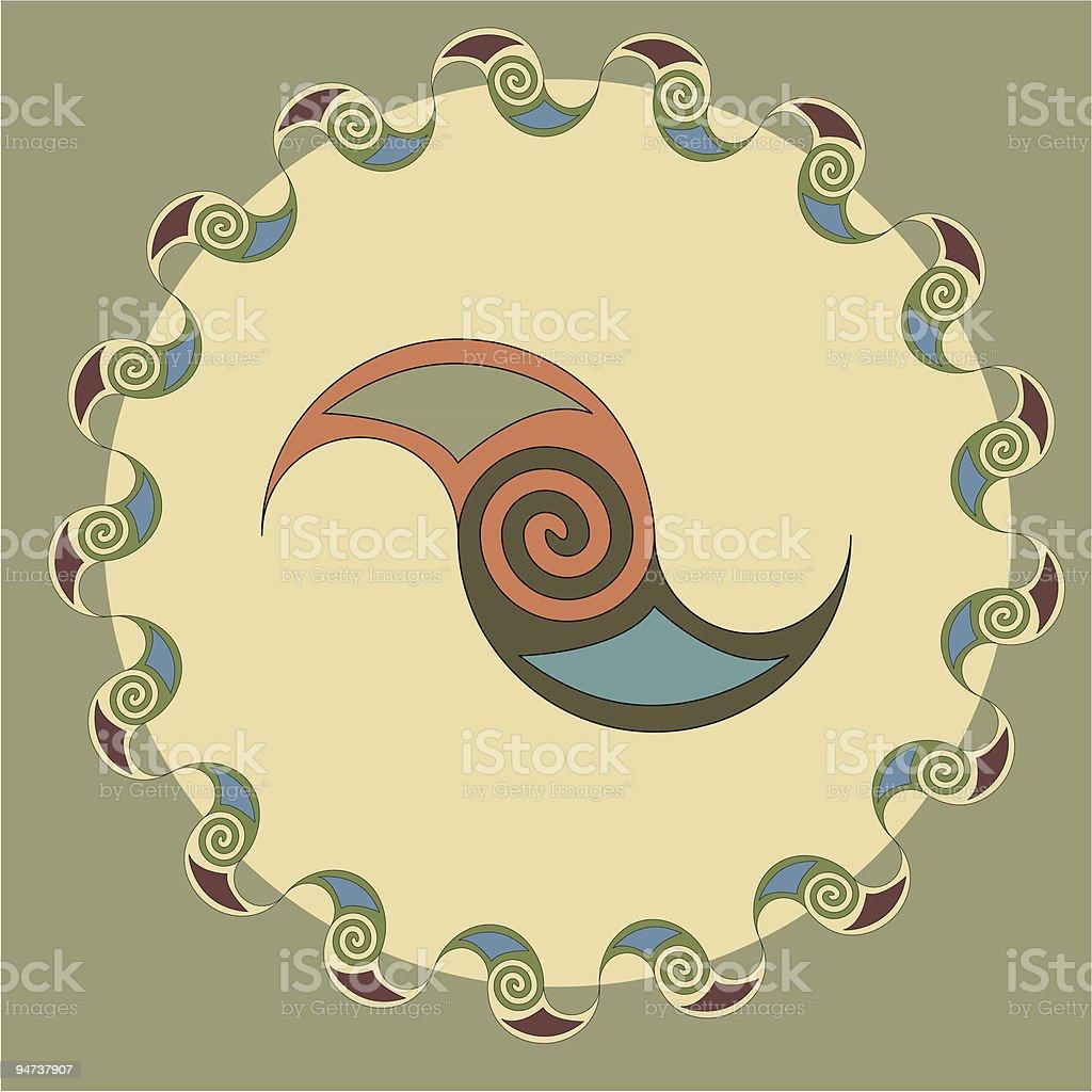 Celtic Symbol royalty-free stock vector art