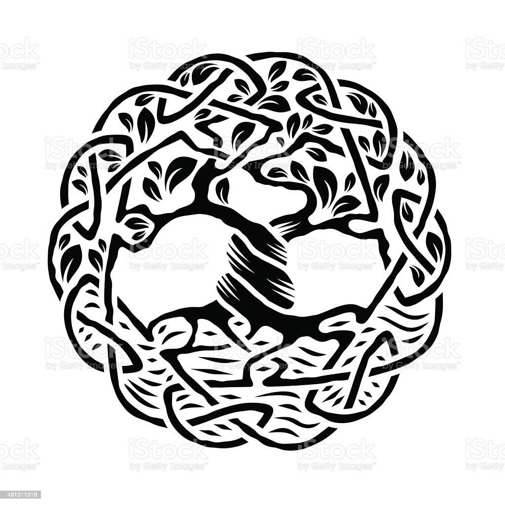 Celtic Arbre de vie - Illustration vectorielle