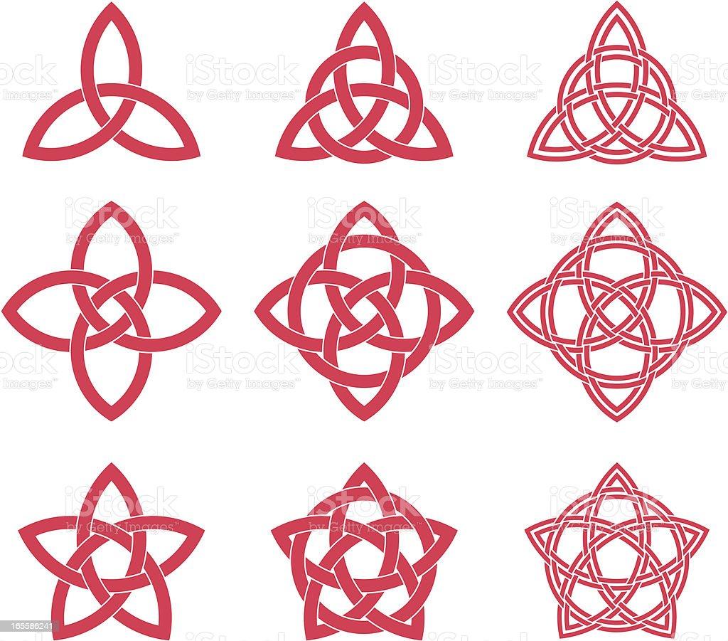 Celtic vector art illustration
