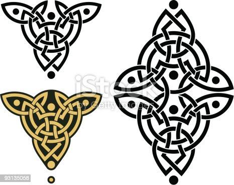 istock Celtic Weave Pattern 93135058