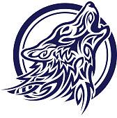 Celtic wolf tatoo