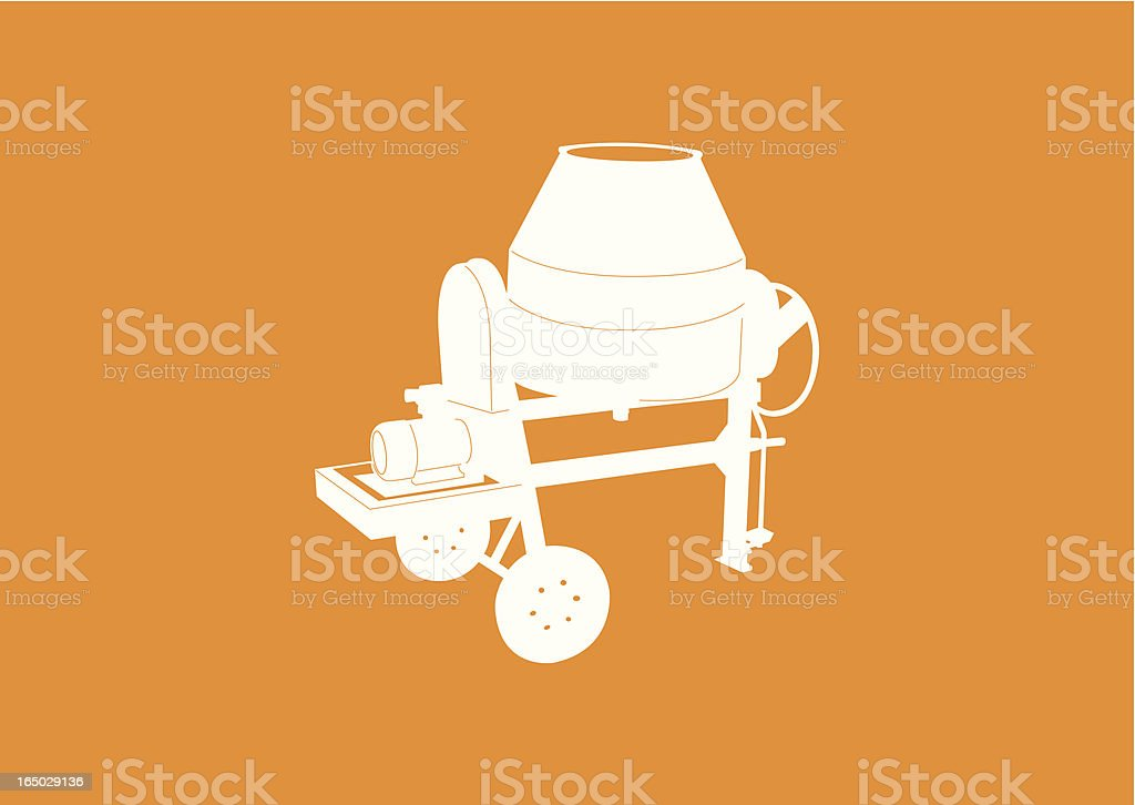 cement mixer royalty-free cement mixer stock vector art & more images of cement