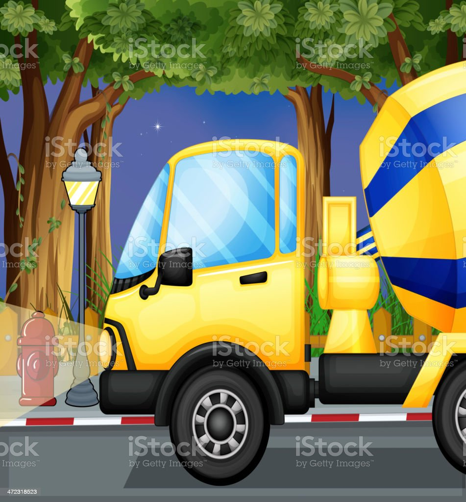 cement truck royalty-free cement truck stock vector art & more images of blue