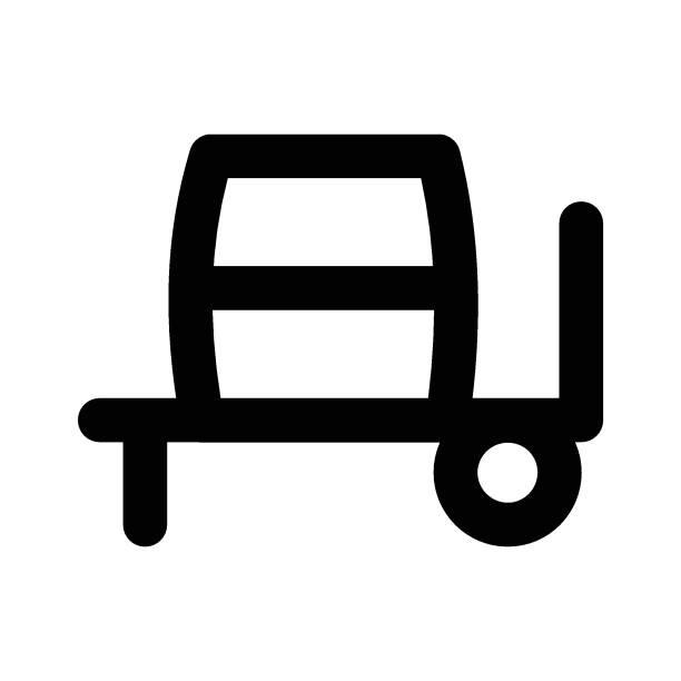 illustrazioni stock, clip art, cartoni animati e icone di tendenza di cemento - transport truck tyres