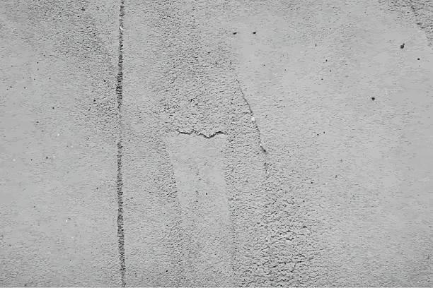 ilustrações, clipart, desenhos animados e ícones de textura de parede de cimento. vetor de fundo - wall texture