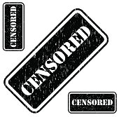 Censored stamp