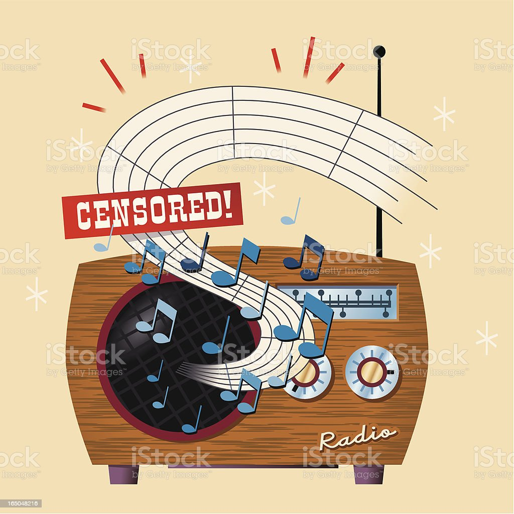 Censored royalty-free censored stock vector art & more images of broadcasting