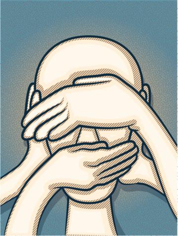 Censura - Arte vetorial de stock e mais imagens de Abrigar-se
