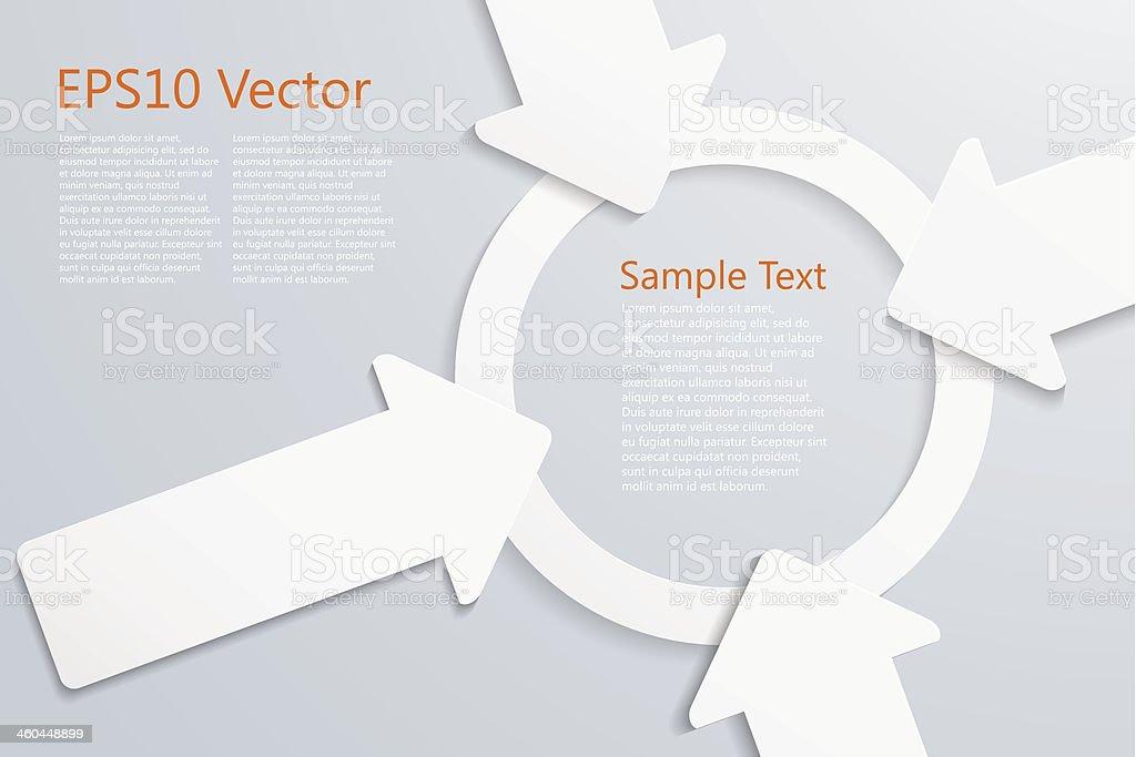 center vector art illustration