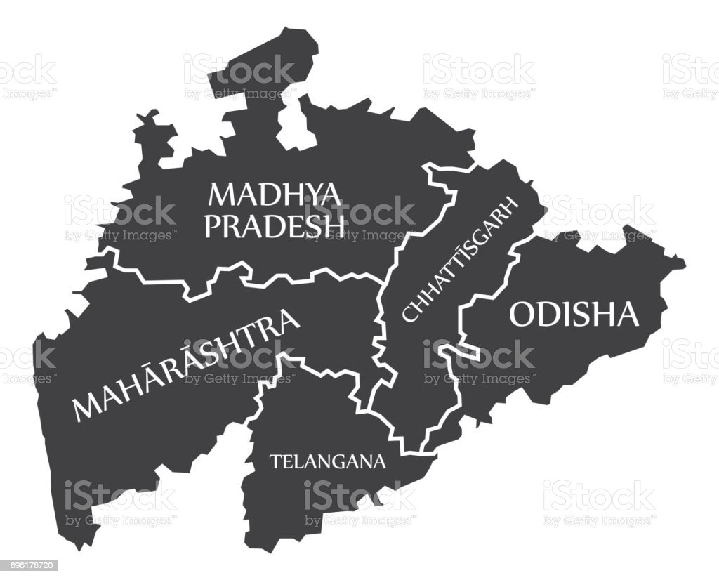 Centered mainland states of india map illustration stock vector art centered mainland states of india map illustration royalty free centered mainland states of india map gumiabroncs Choice Image