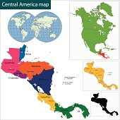 Free Central America Map Clipart and Vector Graphics - Clipart.me