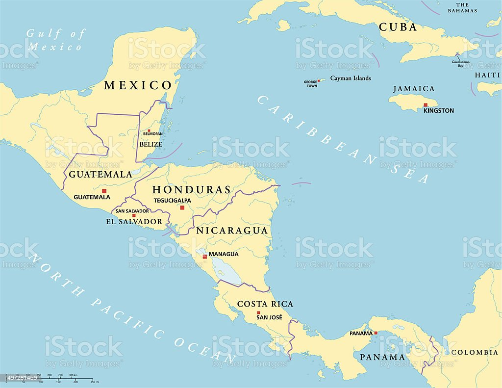 Central America Political Map Stock Illustration - Download ... on central america funny map, central america road map, central america food, central america political system, central america states, nicaragua map, central america vegetation map, panama central america map, latin america map, central america thematic map, isthmus of panama map, central america satellite map, central america rivers, and central america map, south america map, central america google maps, lesser antilles map, central america terrain map, central america home,