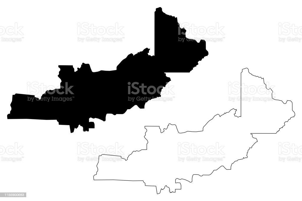Central Province Map Vector Illustration Scribble Sketch ...