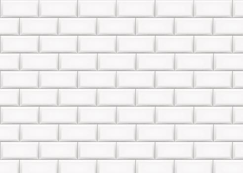 Mur De Briques En Céramique De Tuile Illustration Vectorielle Vecteurs libres de droits et plus d'images vectorielles de Abstrait