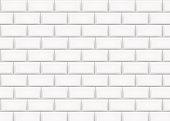 Ceramic brick tile wall. Vector illustration.