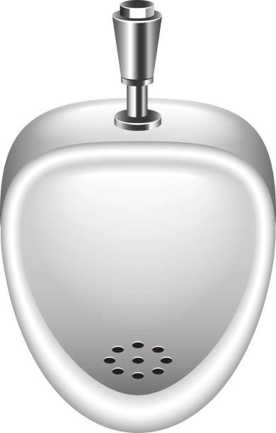 Royalty Free Toilet Clip Art Vector Images: Best Urinal Illustrations, Royalty-Free Vector Graphics