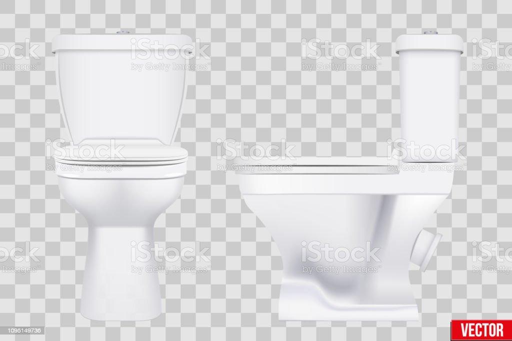Ensemble De Toilette En Ceramique Modele Classique Vecteurs Libres De Droits Et Plus D Images Vectorielles De Armoire A Vetements Istock