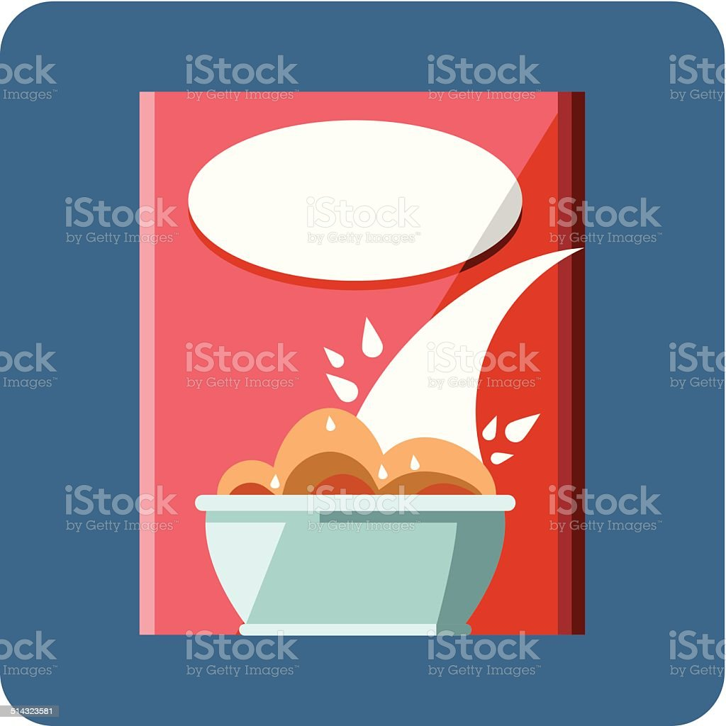 royalty free cereal box clip art vector images illustrations istock rh istockphoto com cereal box clipart black and white Animated Cereal