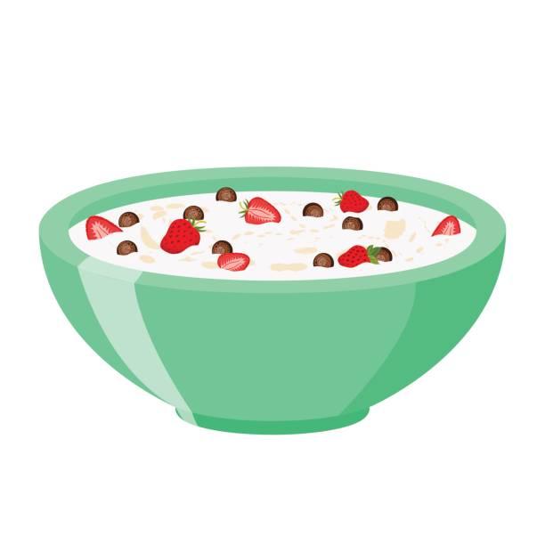 Chocolate Strawberry Porridge