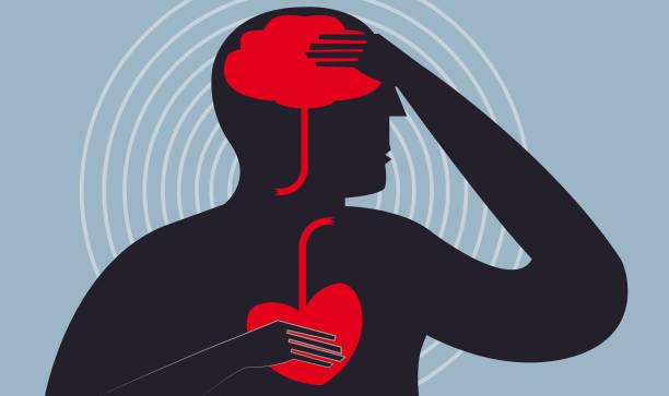 ilustrações, clipart, desenhos animados e ícones de acidente cerebrovascular - colesterol